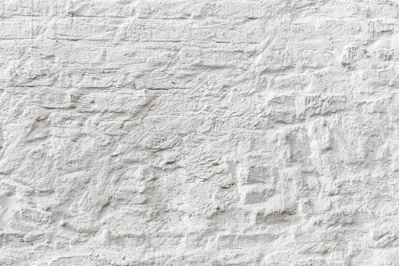 Vit textur för grunge för tegelstenvägg royaltyfri foto