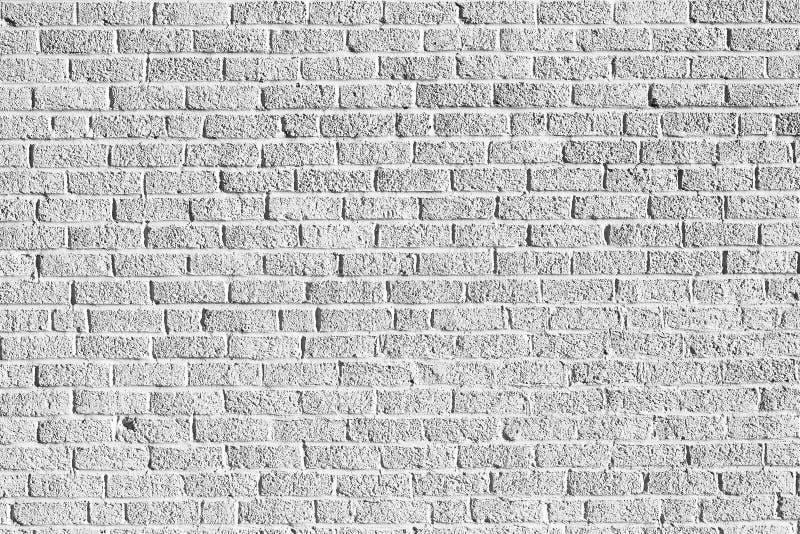 Vit textur för grunge för tegelstenvägg arkivbilder