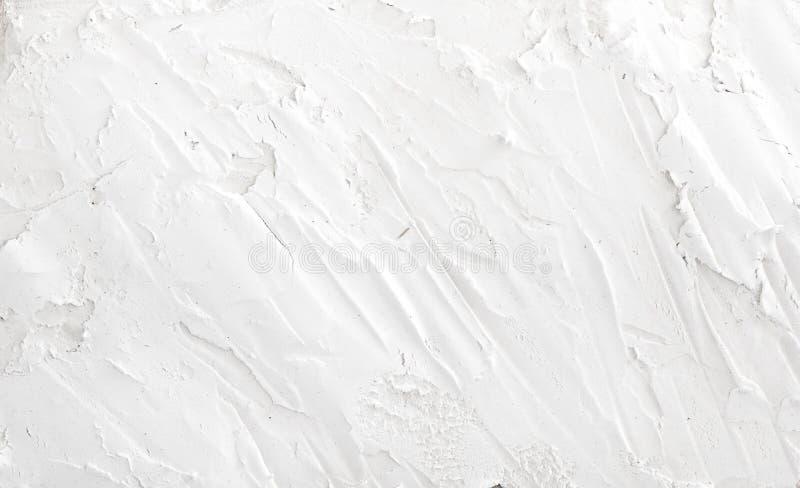 Vit textur för Grungeväggbakgrund för din design royaltyfri foto