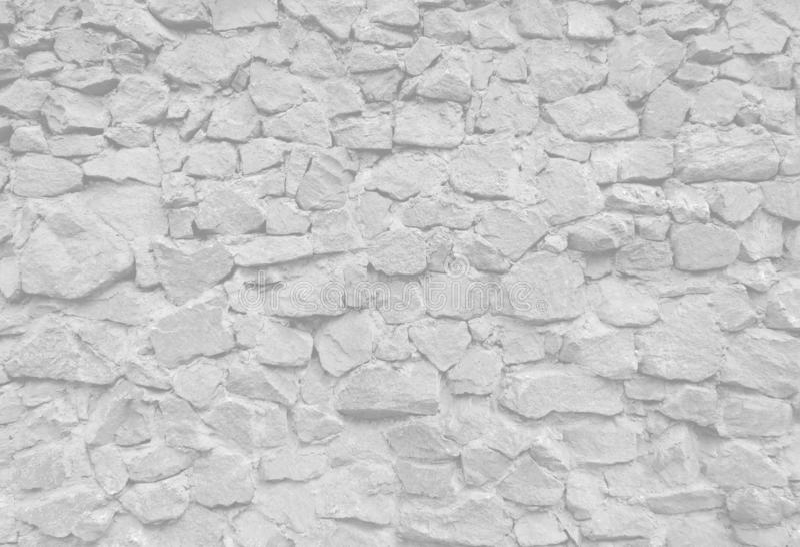 Vit textur för vägg för dekorativ sten arkivbilder