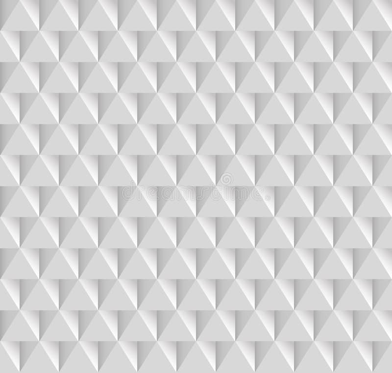 Vit textur som är sömlös vektor illustrationer
