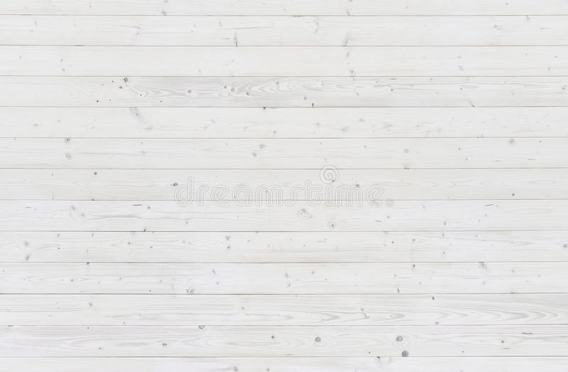 Vit träplankabakgrundstextur royaltyfria bilder