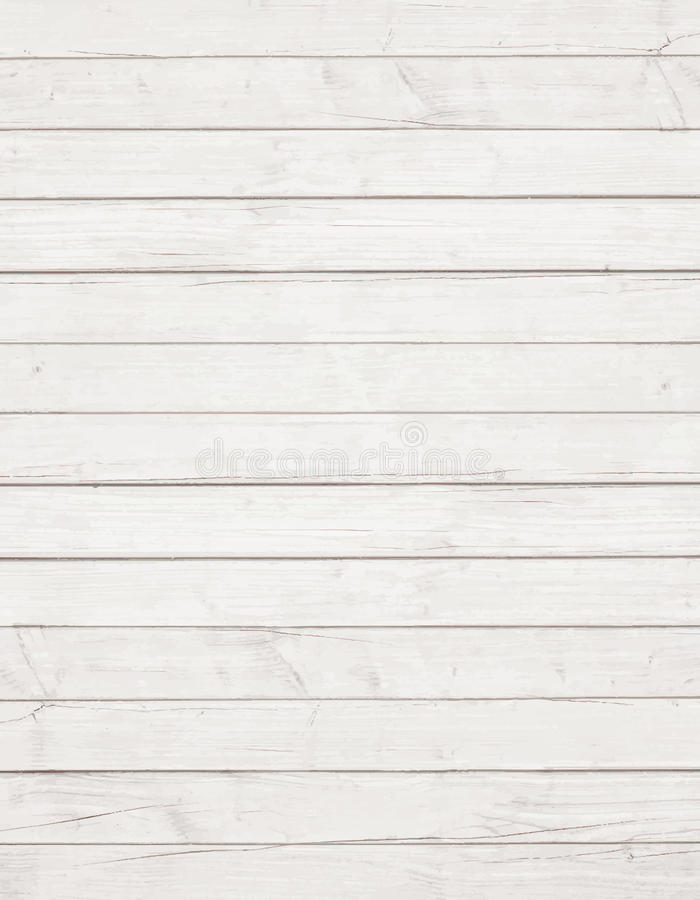 Vit trävägg, tabell, golvyttersida Wood textur för ljus vektor vektor illustrationer