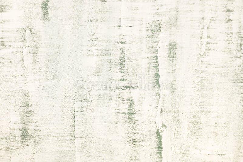Vit tv?ttad m?lad texturerad abstrakt bakgrund med borsteslagl?ngder i gr? f?rg- och svartskuggor stock illustrationer