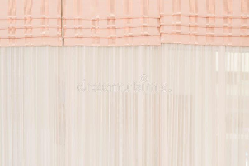 Vit tyggardinbakgrund arkivfoton
