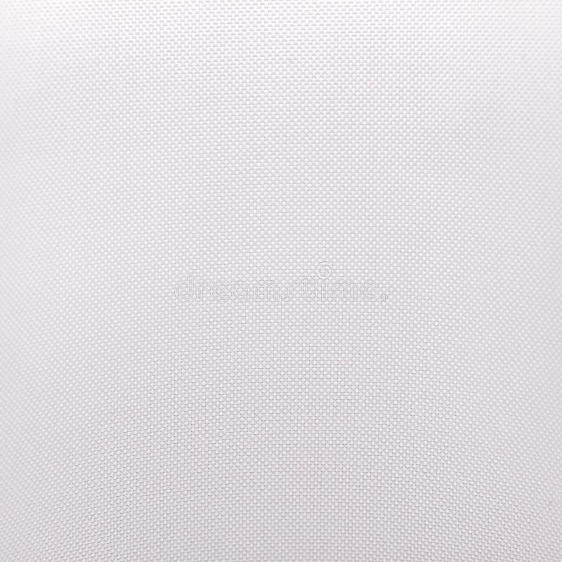 Vit tygtextur Bakgrund f?r textilmaterial Detalj av torkdukemodellen royaltyfria bilder