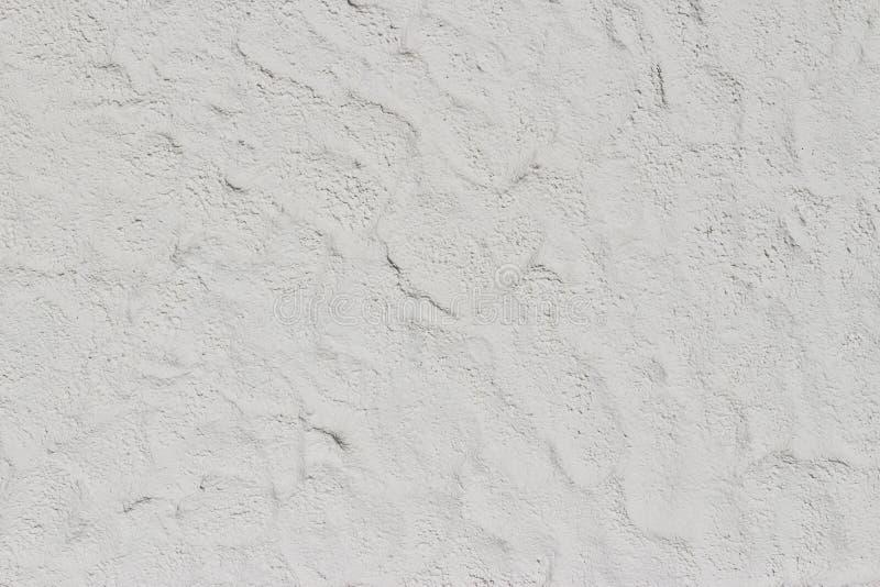 Vit väggbakgrund eller textur för stuckatur royaltyfri fotografi