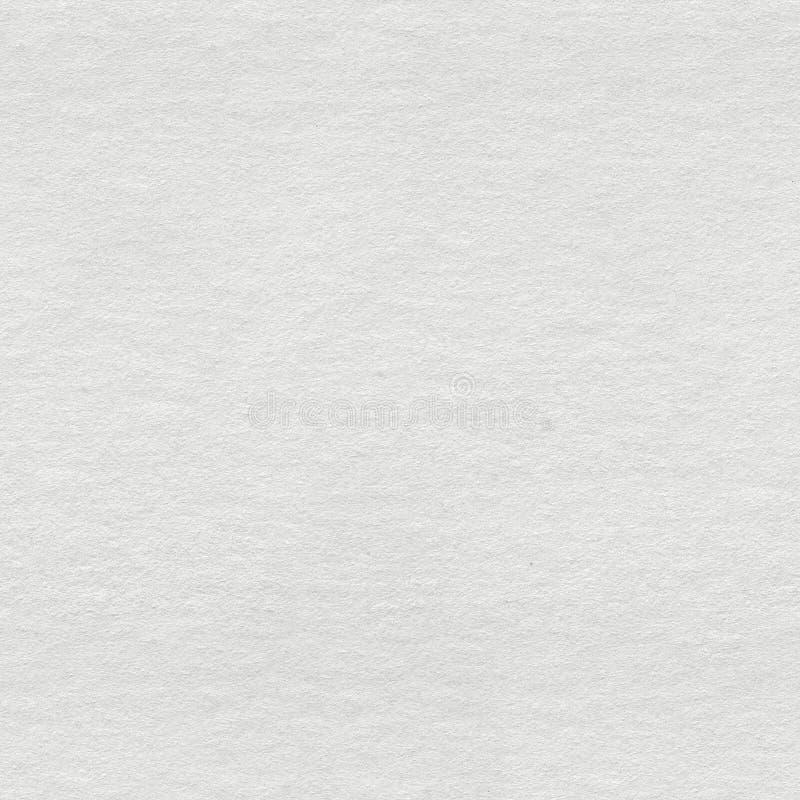 Vit vattenf?rgpapperstextur S?ml?s fyrkantig bakgrund, klar tegelplatta arkivfoto