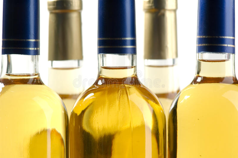 vit wine arkivfoto