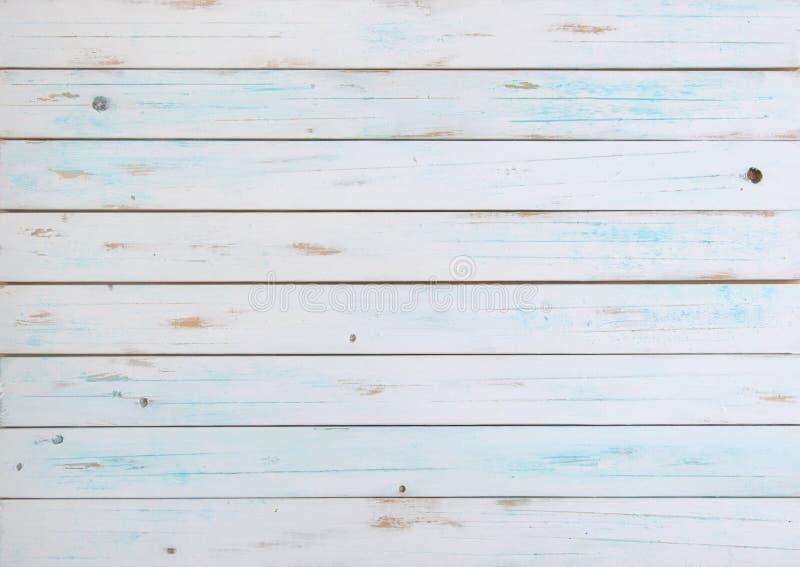 Vit wood bakgrund royaltyfri bild