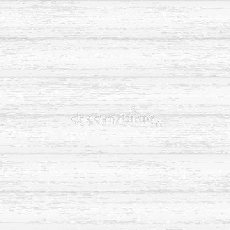 Vit wood textur stock illustrationer