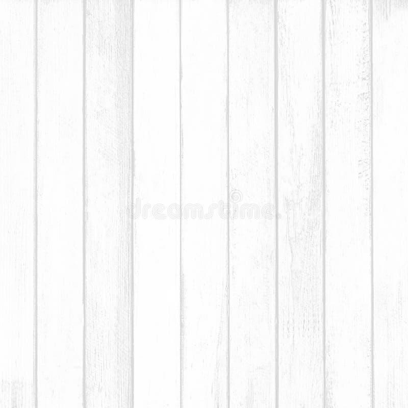 Vit wood väggplankatextur för bakgrund arkivbild