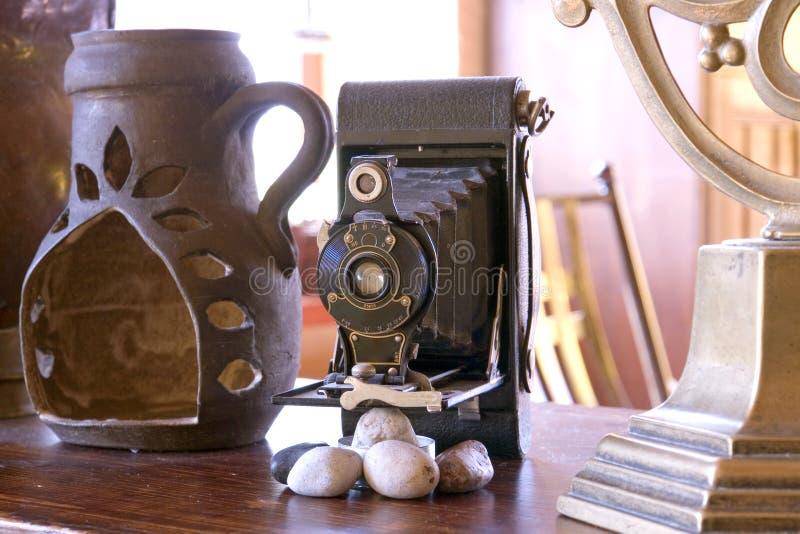 vita antica della macchina fotografica ancora fotografia stock libera da diritti