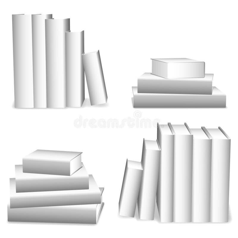Vita böcker.
