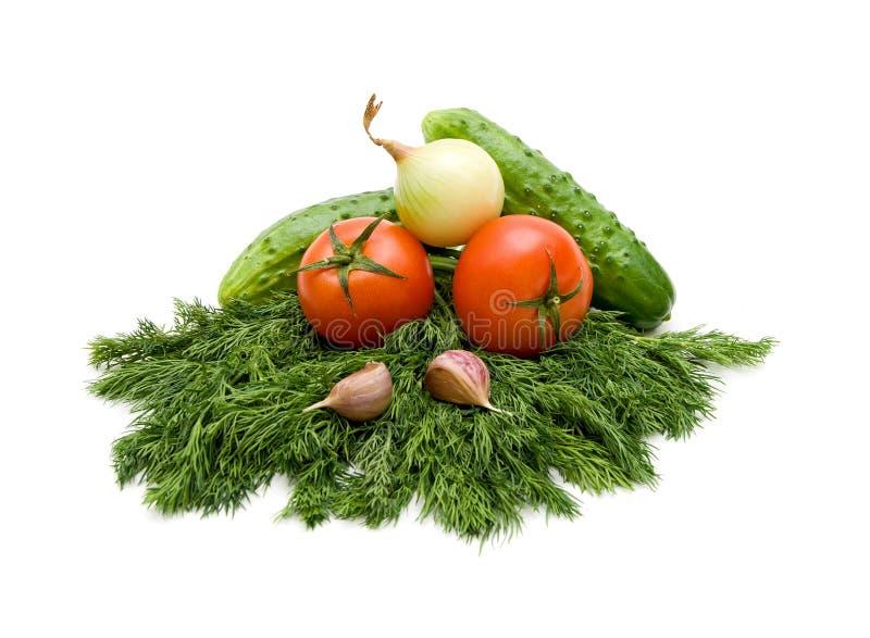 Download Vita bakgrundsgrönsaker arkivfoto. Bild av tomat, gräsplaner - 19792388