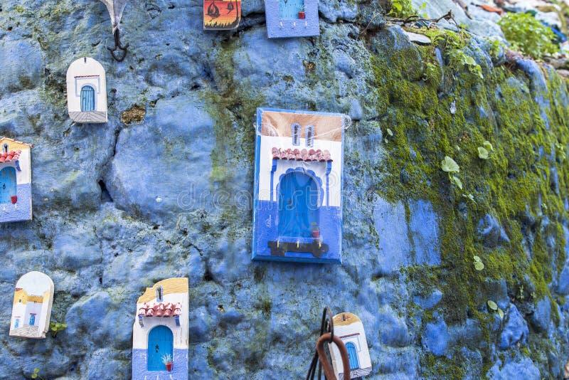 Vita a Chefchaouen Medina nel Marocco immagini stock