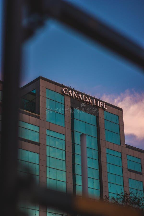 Vita del Canada fotografia stock libera da diritti