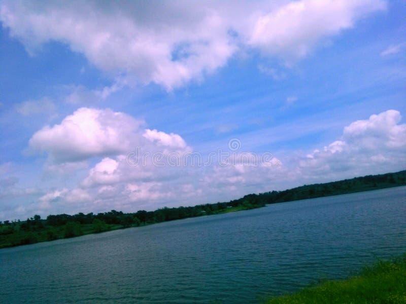 Vita del lago fotografie stock