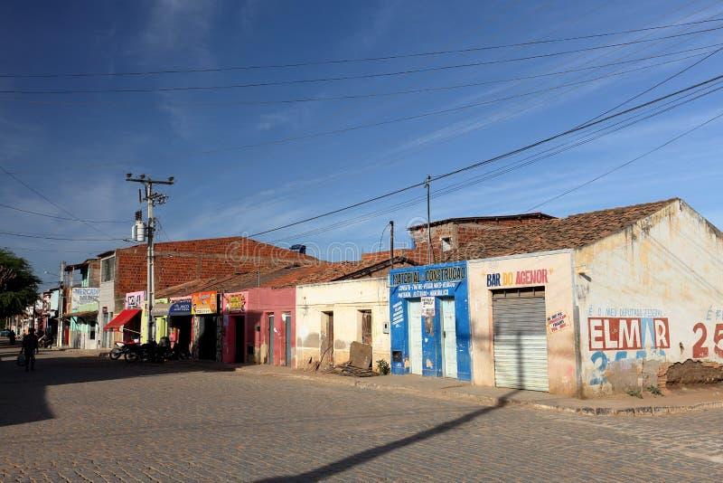 Vita del villaggio nel Brasile in Petrolina fotografia stock libera da diritti