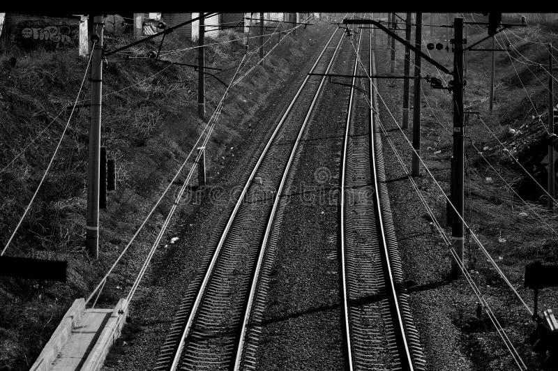 Vita della ferrovia fotografie stock libere da diritti