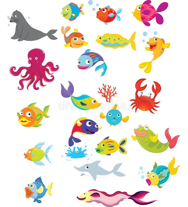 Vita di mare illustrazione vettoriale