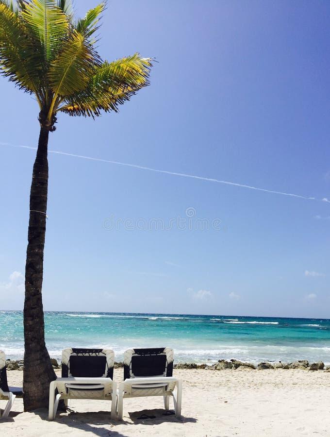 Vita di rilassamento della spiaggia fotografia stock libera da diritti