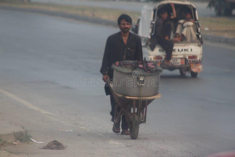 Vita di via pakistana fotografia stock libera da diritti