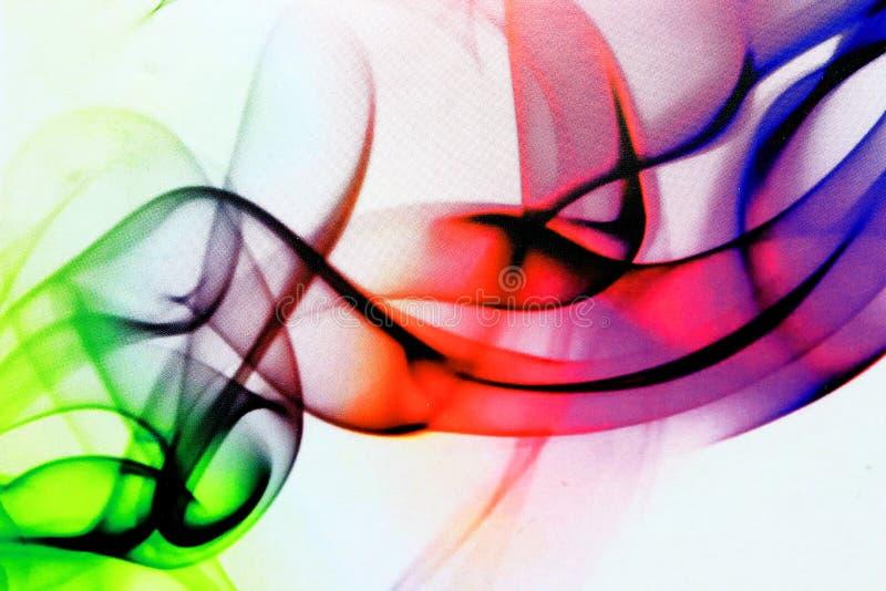 Vita färgtrådar royaltyfri foto