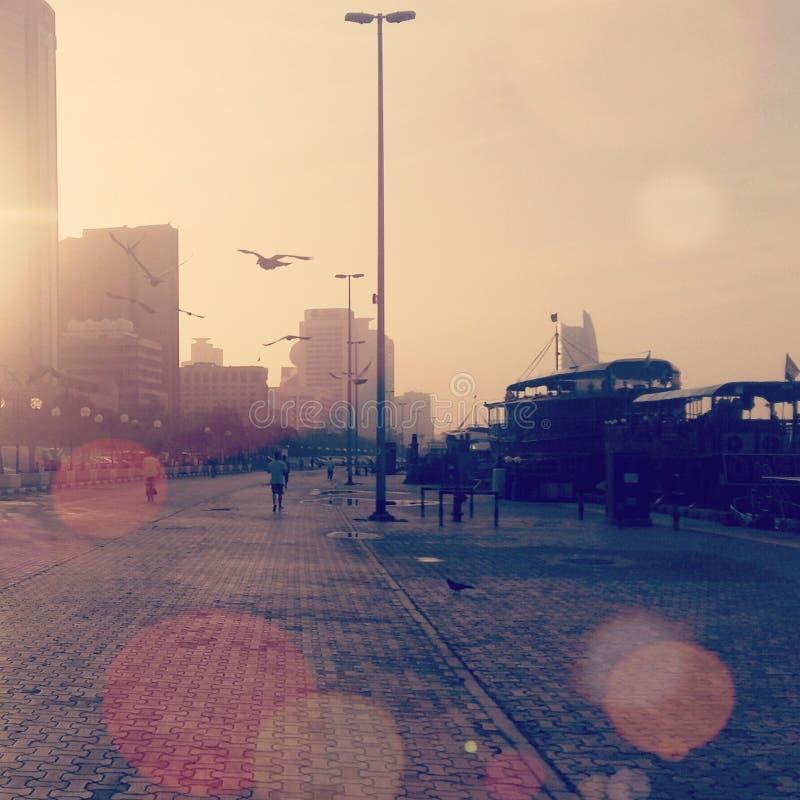 Vita felice del Dubai immagine stock