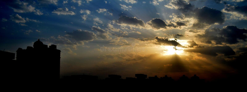 vita in Ghaziabad fotografia stock libera da diritti