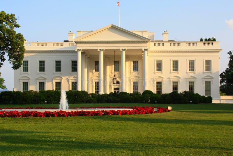 Vita Huset, Washington, D C arkivbild
