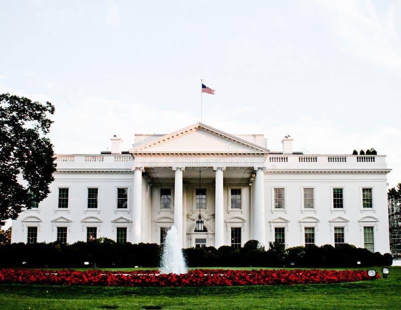 Vita huset Washington, DC fotografering för bildbyråer