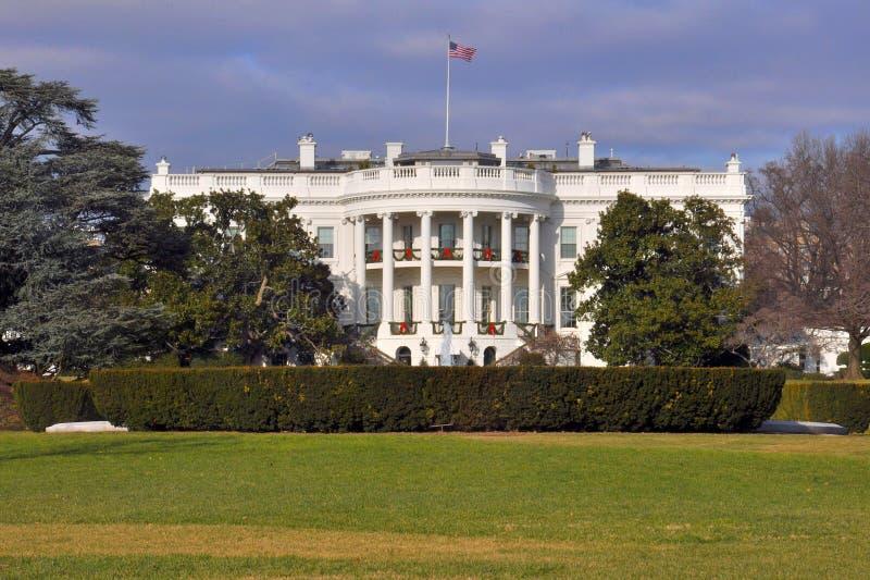 Vita Huset Washington, DC, USA fotografering för bildbyråer