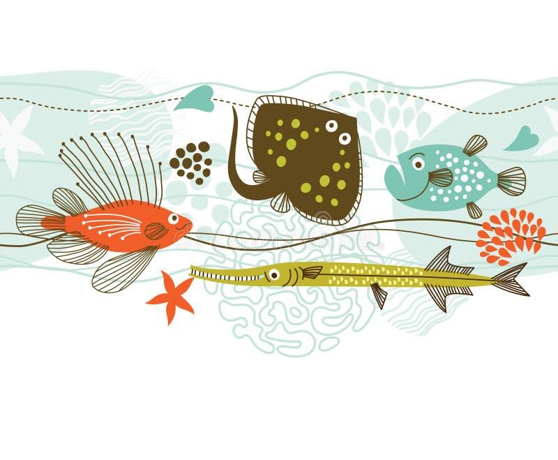 Vita marina royalty illustrazione gratis