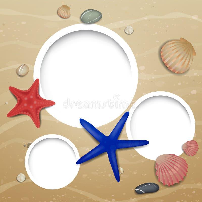 Vita marina illustrazione vettoriale