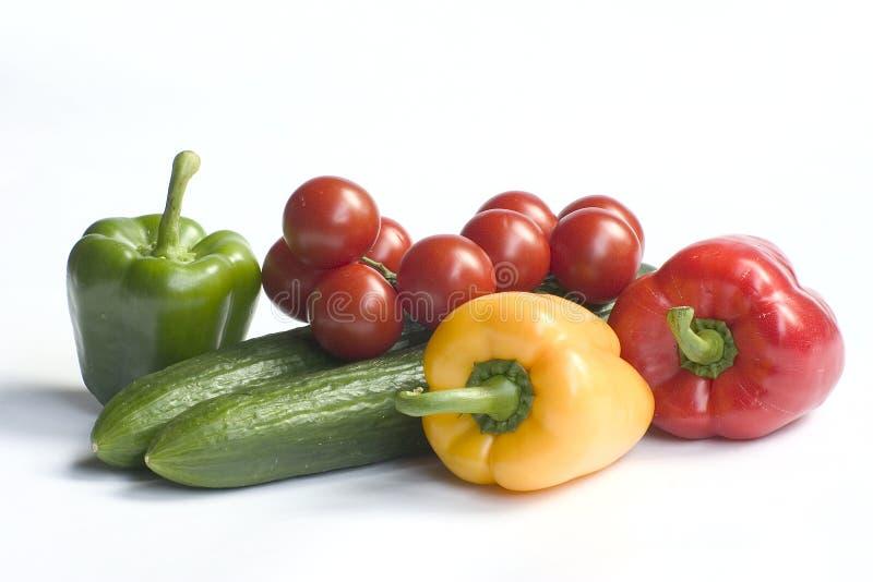 vita nya grönsaker för bakgrund arkivbilder