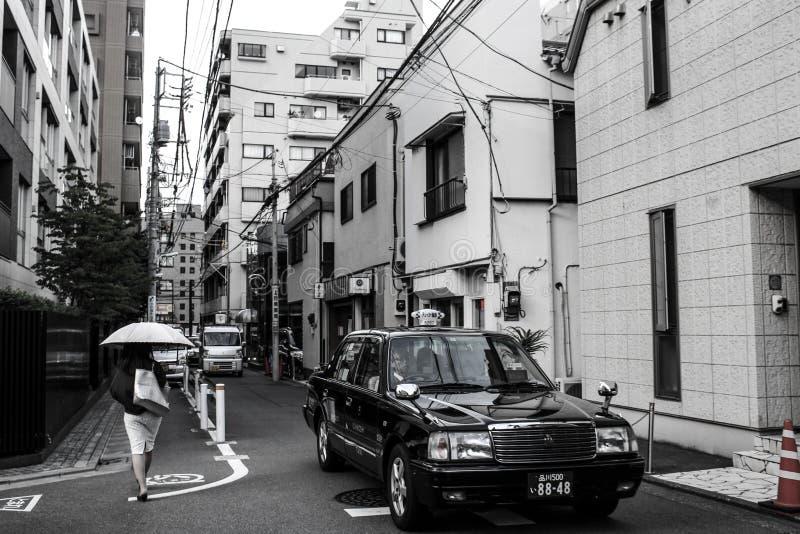 Vita quotidiana di Tokyo immagine stock