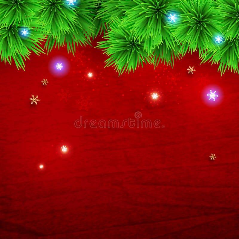 vita röda stjärnor för abstrakt för bakgrundsjul mörk för garnering modell för design stock illustrationer