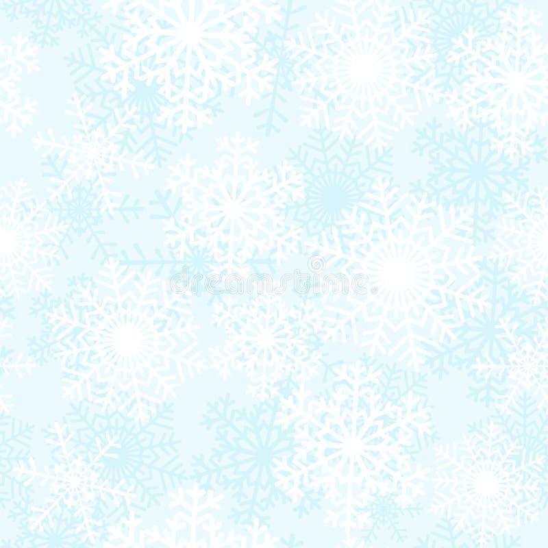 Download Vita snowflakes vektor illustrationer. Illustration av snow - 27281175