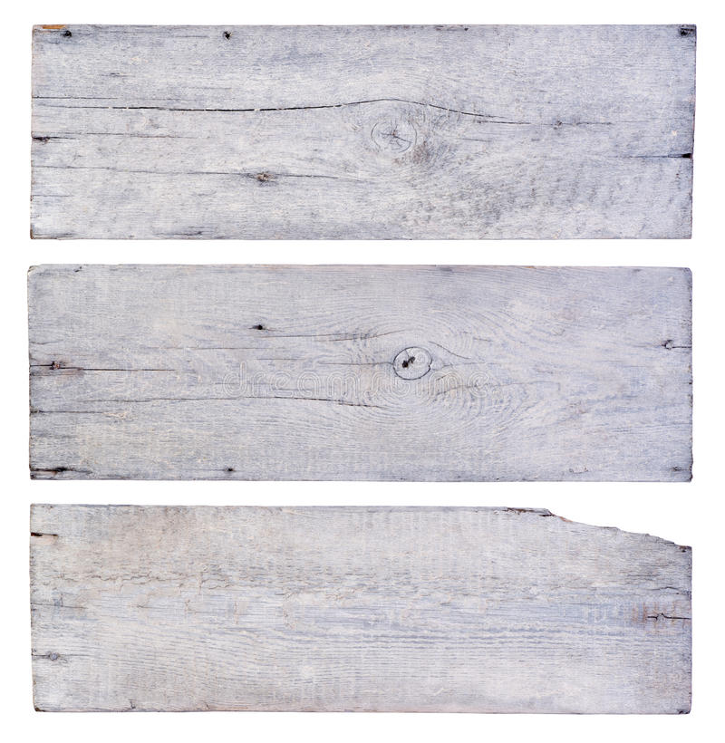 Vita träplankor arkivbild
