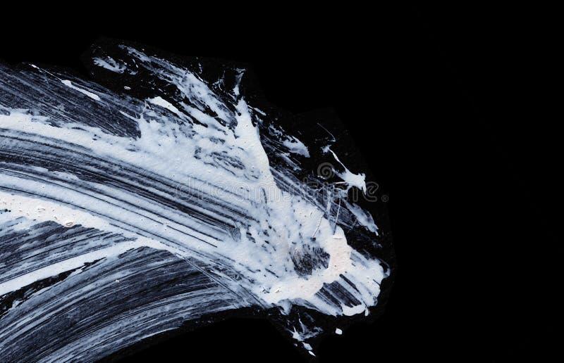Vita uttrycksfulla borsteslaglängder för idérika, innovativa intressanta bakgrunder i zen utformar fotografering för bildbyråer