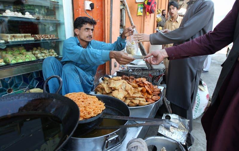 Vita in valle dello schiaffo, Pakistan fotografia stock libera da diritti