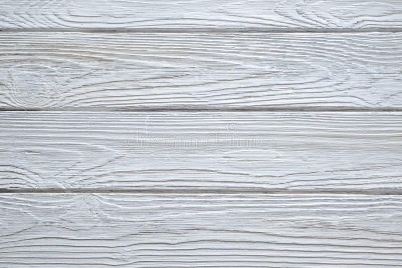 Vita wood texturbakgrunder arkivfoton