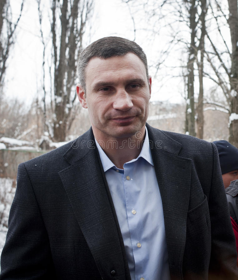 Vitali Klitschko 免版税图库摄影