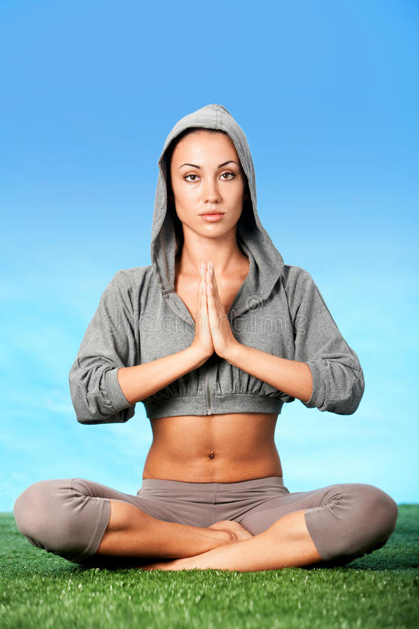 Download Vitality stock photo. Image of peace, happy, calm, pose - 17787596