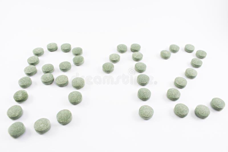 Vitamin B12 royaltyfria bilder