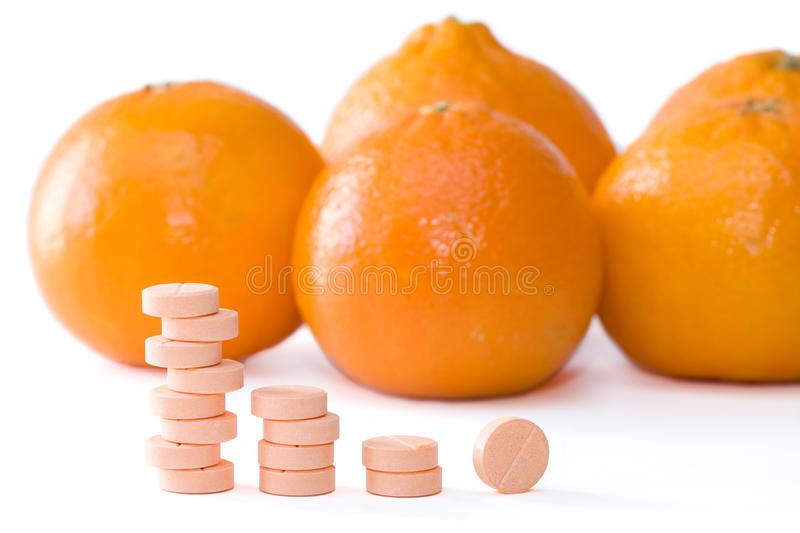 Download Vitamin C stock photo. Image of multi, fruit, medication - 12305108