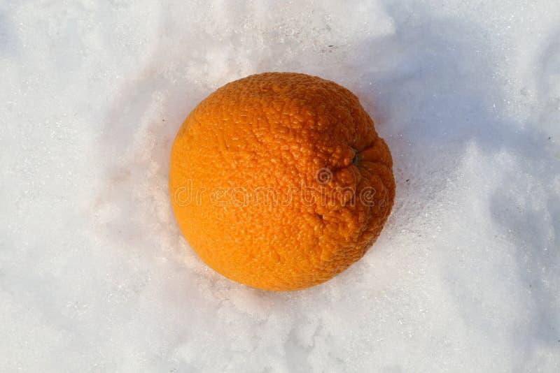 Vitamin c orange und Kälte- und Grippe-Saison-Geschichte stockfotografie
