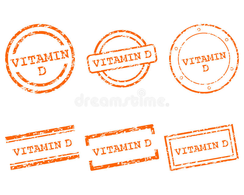 Download Vitamin D Stamps Stock Photos - Image: 26774033