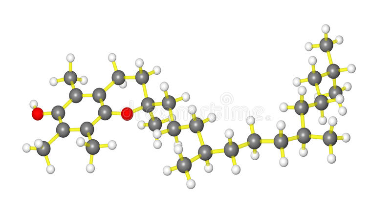 Download Vitamin E stock illustration. Image of pharmaceutical - 10764673